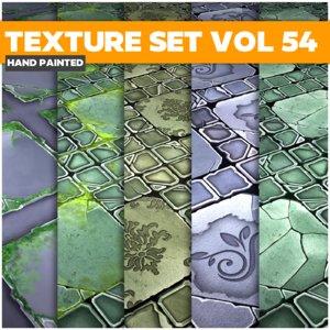 Tiles Vol 54 - Game PBR Textures Texture