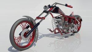 custom blackwidow 3D model