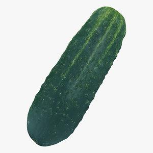kirby cucumber 02 raw 3D model