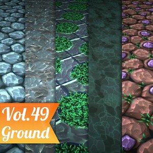 Ground Vol 49 - Game PBR Textures Texture