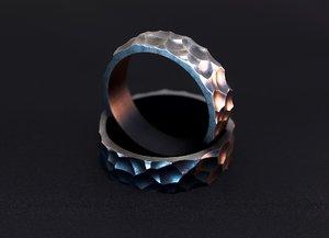 3D jewelry wedding ring