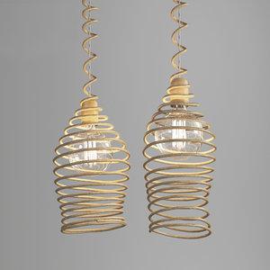 brent hanging lamp 3D