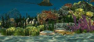 undersea world oceans 3D