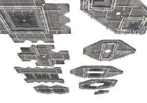industrial ceiling 3D