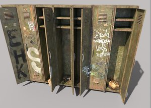old locker model