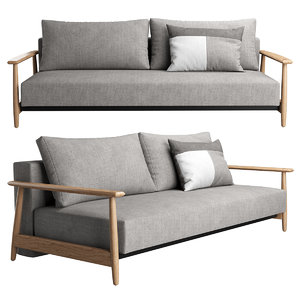3D una sofa