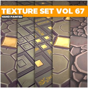 Tiles Vol 67 - Game PBR Textures Texture