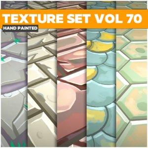 Mix Vol 70 - Game PBR Textures Texture
