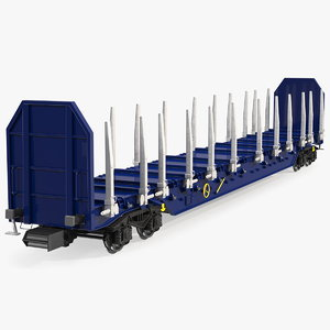3D axled stake wagon new