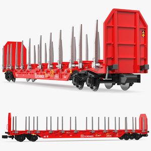 3D rnoos 644 stake wagon