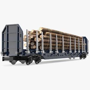 stake wagon loaded big model