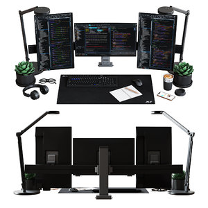 desktop set specialist edition 3D model