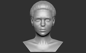 bust woman printing 3D