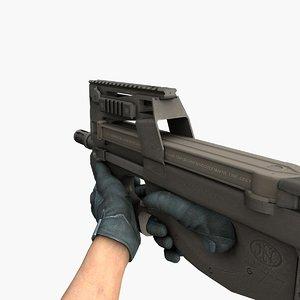 p90 gun model