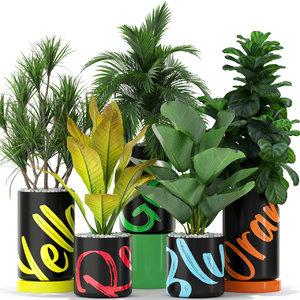 plants 377 3D model