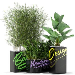3D plants 378 model