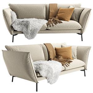 comfort hugo sofa 3D model