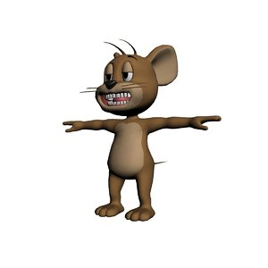 jerry 3D model