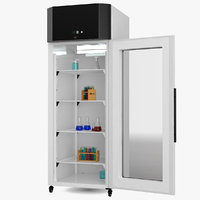 Cooled Lab Incubator 570L with Test Tubes