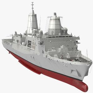 san antonio class sikorsky 3D model