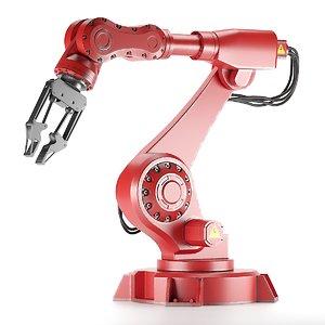 3D robot manipulator model