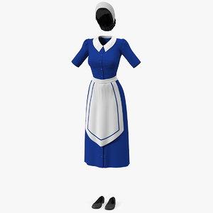 maid dress model