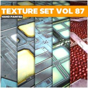 Scifi Vol 87 - Game PBR Textures Texture