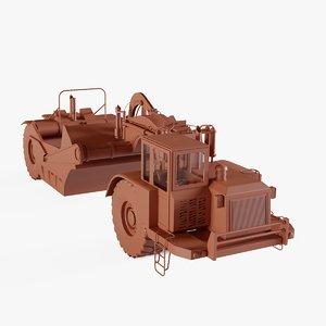 Wheel Tractor-Scraper 2