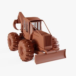3D loader tractor