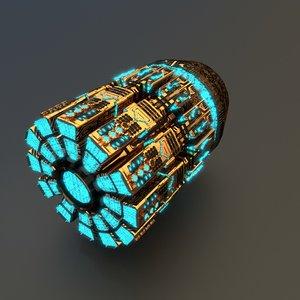 ftl drive 3D model