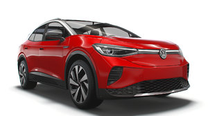 3D volkswagen id4 1st 2021 model