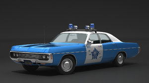 3D 1971 dodge polara model