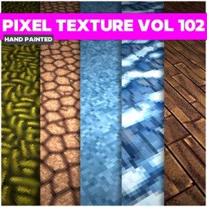 Pixel Vol 102 - Game PBR Textures Texture