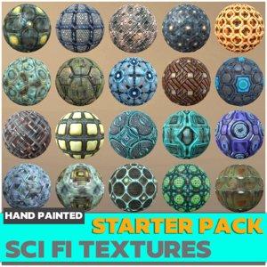 Sci-fi Textures Starter Kit Texture