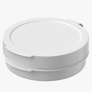 3D model pill pod hinge 1