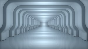 3D tunnel architectural