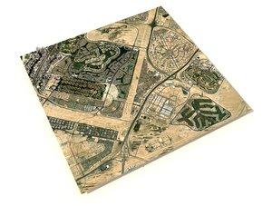 dubai emirates hills united 3D model