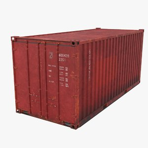 container 20 3D model