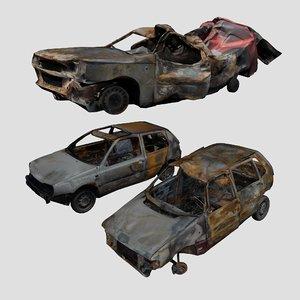 wreck car model