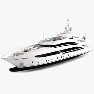 triton luxury yacht dynamic model