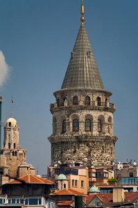 tower galata 3D