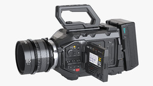 photoreal camera blackmagic ursa 3D model