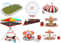 Amusement Park Equipment 9 Pieces