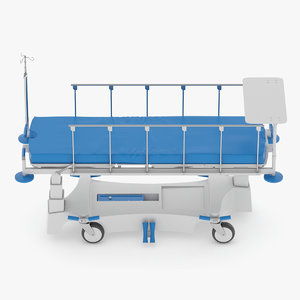 stretcher trolley 3D