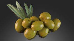 olive green 3D