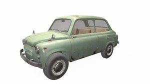 3D model zaz 965 car
