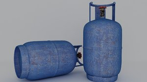 3D gas cylinder contains