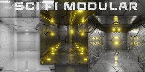 interiors pack fi 3D model