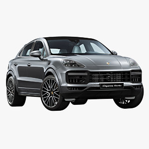 2020 porsche cayenne turbo 3D model