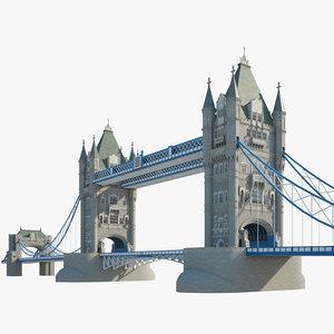 tower bridge model